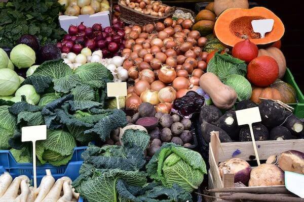 Las verduras de invierno más sanas