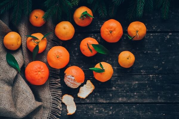 Winter fruits oranges help you get over a cold