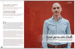articulo sobre Salva Gianfreda y Puntos de Salud