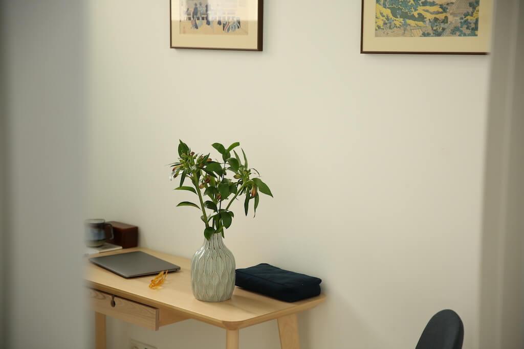 Consultation room at PUNTOS de salud